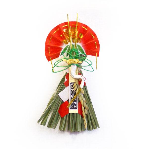 【ミニミニ水引飾り】 鶴(吸盤付き)