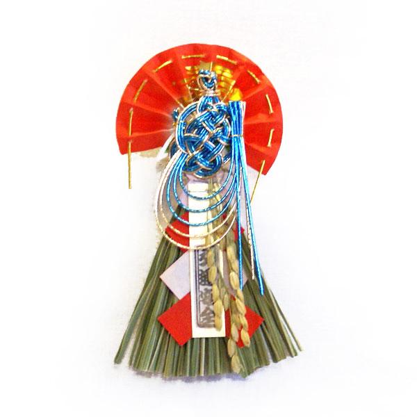 【ミニミニ水引飾り】 亀(吸盤付き)