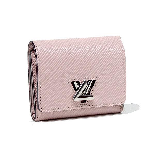 ルイヴィトン LOUIS VUITTON エピ ポルトフォイユ ツイスト コンパクト 三つ折り財布 ローズバレリーヌ M62934