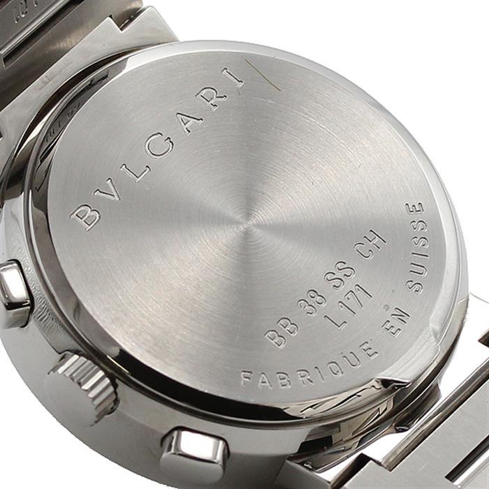 ブルガリ BVLGARI ブルガリブルガリ クロノグラフ BB38SSCH 自動巻 メンズ腕時計 箱