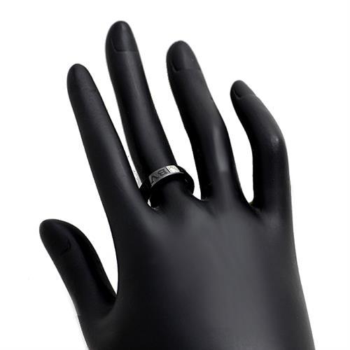 ブルガリ BVLGARI ダブルロゴリング ブラックセラミック K18WG ダイヤ #51