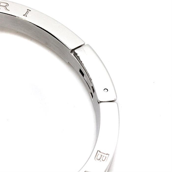 ブルガリ BVLGARI B-zeroウォッチ BZ22S ブルーシェル文字盤 12Pダイヤ レディース腕時計 クォーツ Mサイズ