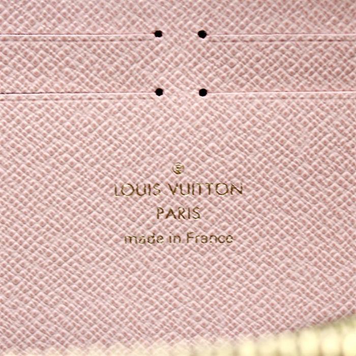 未使用!ルイヴィトン LOUIS VUITTON モノグラム ポルトフォイユ・クレマンス M61298 ピンク