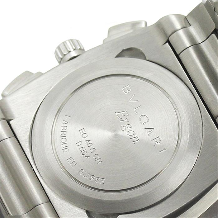ブルガリ BVLGARI エルゴン メンズ腕時計 自動巻 EG40SCH