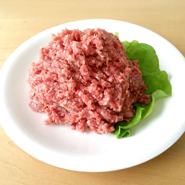 【はつ恋ポーク】ハンバーグ用 極上合挽きミンチ〜あいち牛 約300g