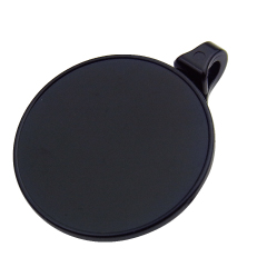 ストラップクリップ 回転機能付き シールタイプ 黒・透明 NC-2PV-S 500個入り