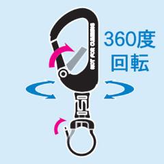 カラビナリング KB-50-R10