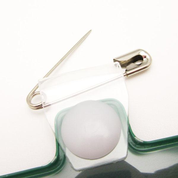 腕章差し込み式 レギュラーサイズ 安全ピンタイプ マジックテープ付