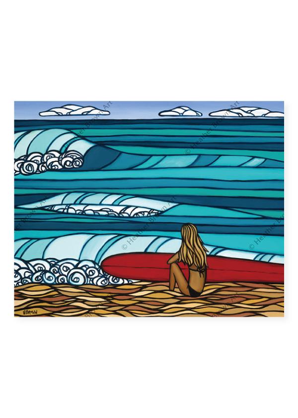 Surf Girl <br>【オープンエディションマットプリント】
