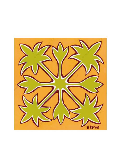 Hawaiian Quilt<br>【オープンエディション ジクレーキャンバスプリント】
