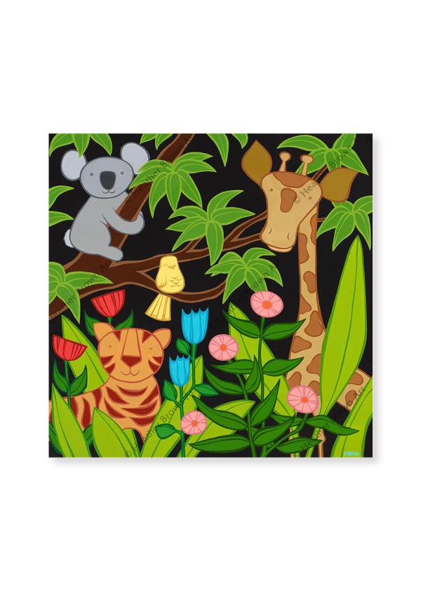 Jungle Friends<br>【オープンエディションマットプリント】