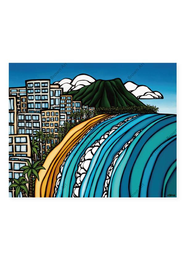 Waikiki <br>【オープンエディションマットプリント】