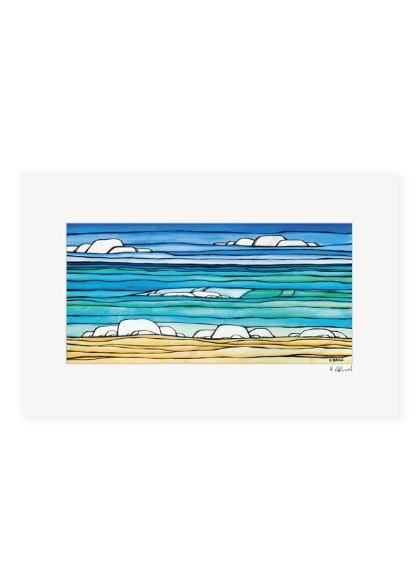 Daydream Sea<br>【オープンエディションマットプリント】
