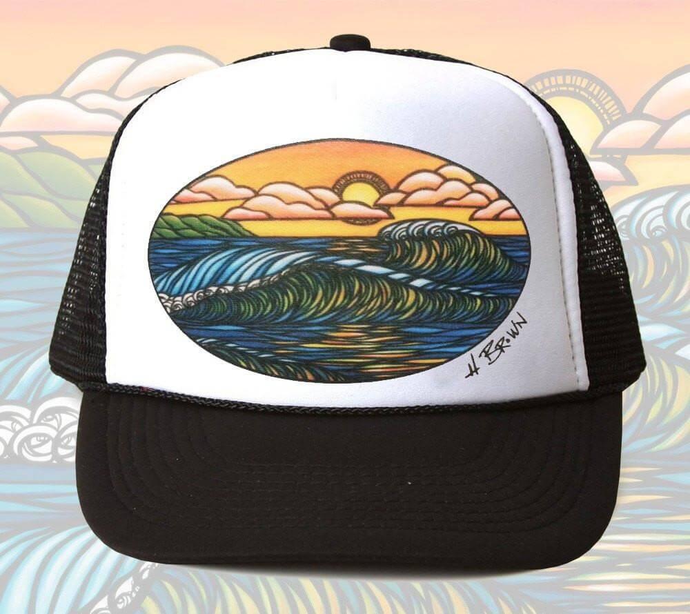 Haleiwa Sunset Trucker Hat <br>【キャップ】