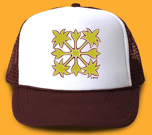 Hawaiian Quilt Trucker Hat <br>【キャップ】