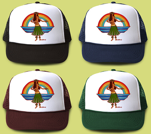 Hula Trucker Hat <br>【キャップ】