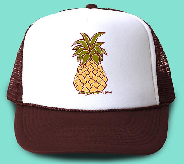 Pineapple Trucker Hat <br>【キャップ】