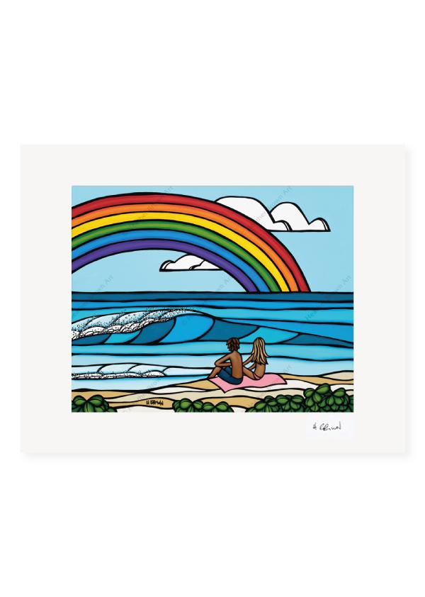 Love Under The Rainbow<br>【オープンエディションマットプリント】
