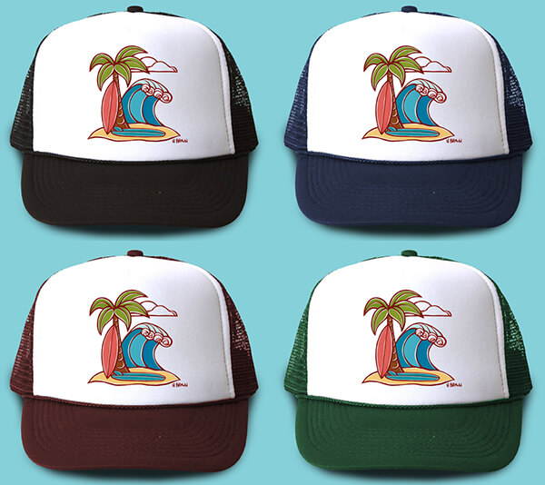Surfboards Trucker Hat <br>【キャップ】