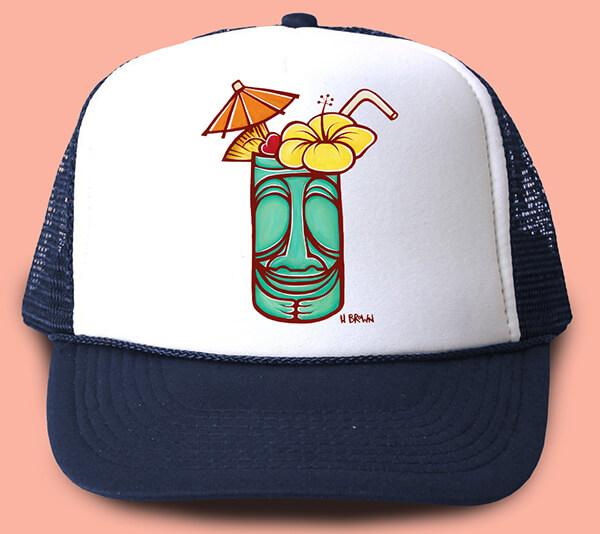 Tiki Trucker Hat <br>【キャップ】
