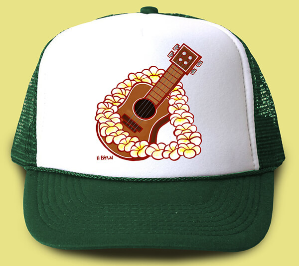 Ukulele Trucker Hat <br>【キャップ】