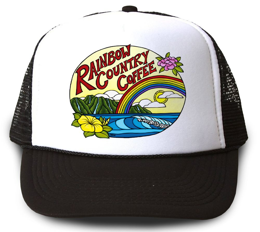 Rainbow Country Coffee <br>【キャップ】