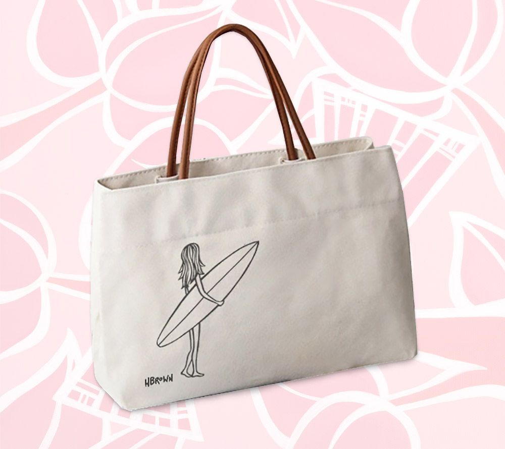 Surfer Girl<br>【Canvas Totes】