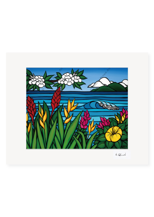 Flowers of Hawai'i<br>【オープンエディションマットプリント】