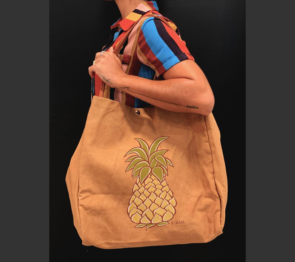 Pineapple<br>【Canvas Totes】
