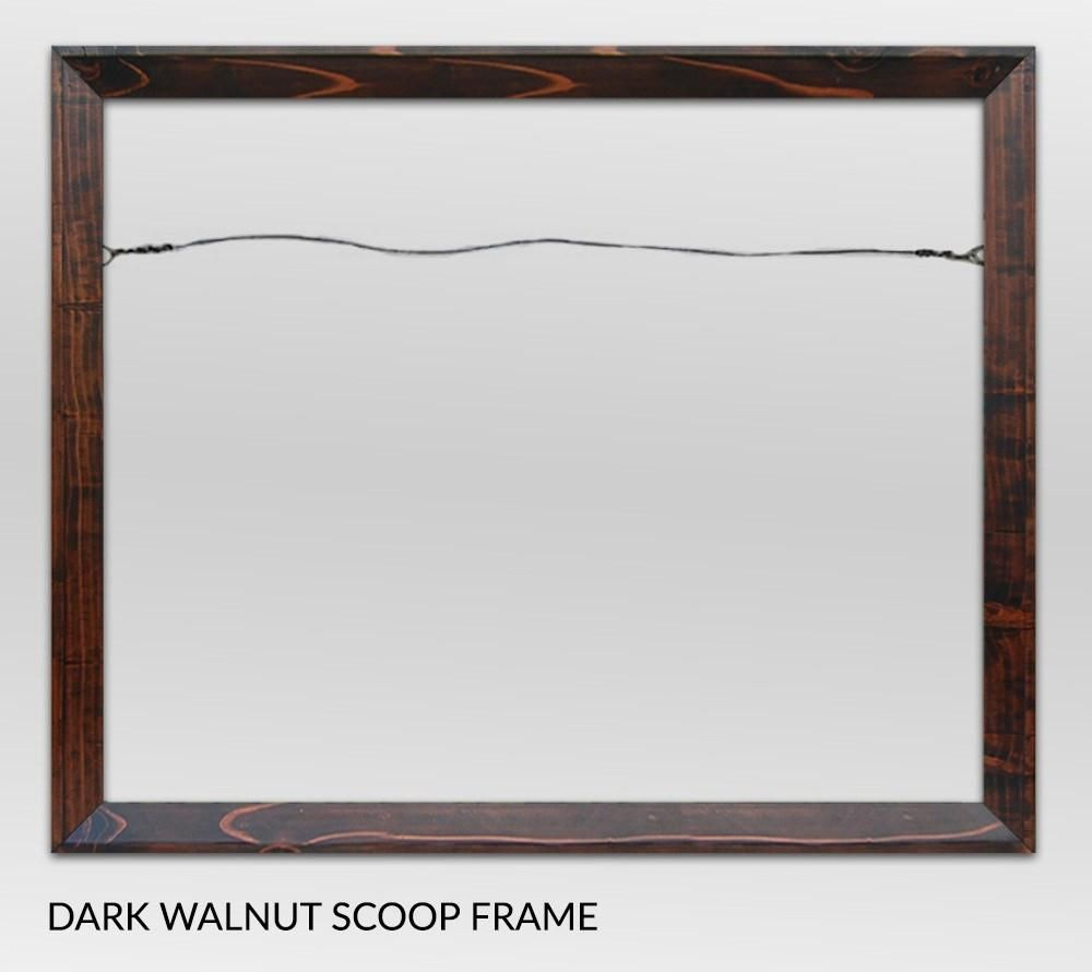 Canvas Giclee Frames-Scoop Style<br>【CUSTOM ORDER】