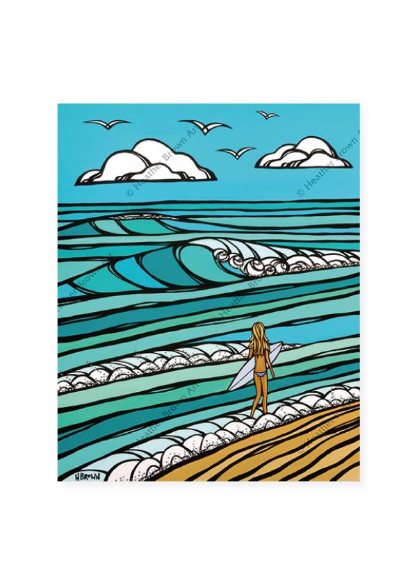 Gem of the Sea<br>【オープンエディションマットプリント】