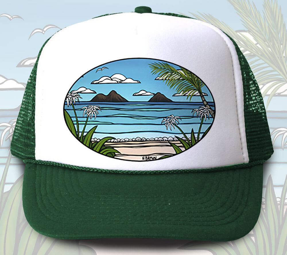 Kailua Weekend Trucker Hat <br>【キャップ】