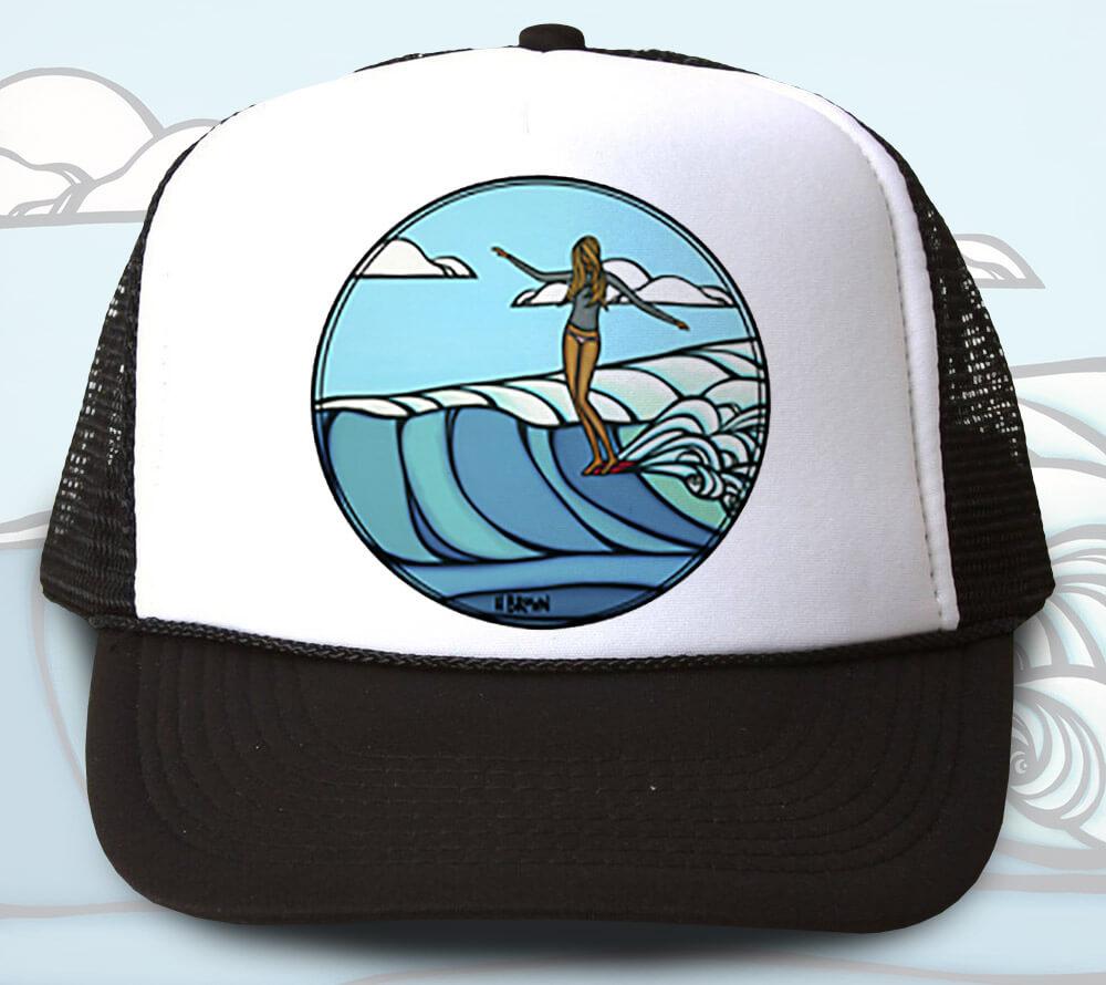 Lady Slide Trucker Hat <br>【キャップ】