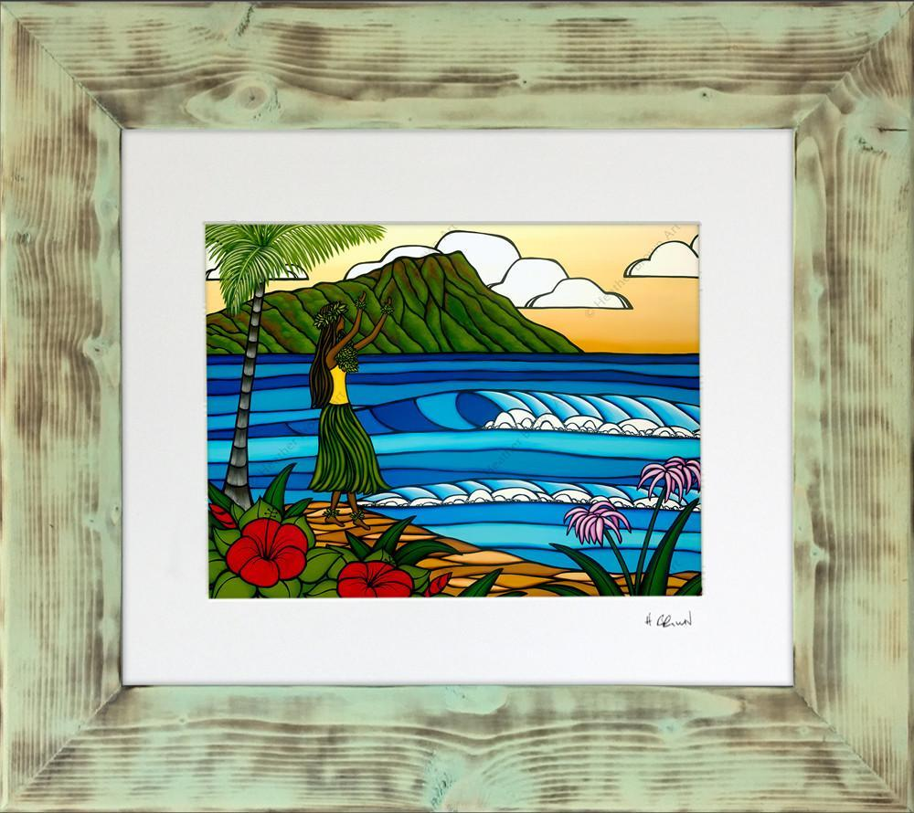 Shou Sugi Frames (Seafoam)<br>【FRAME】