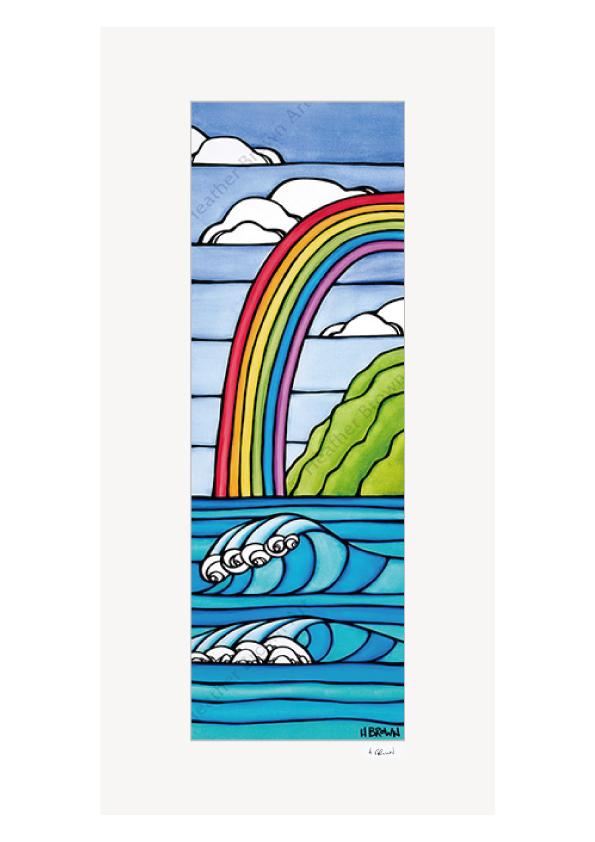 Rainbow to the Sea <br>【オープンエディションマットプリント】
