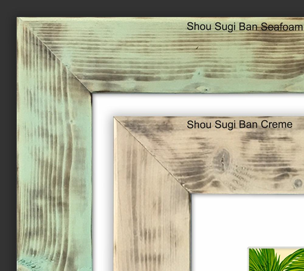 Shou Sugi Frame (Creme)<br>【FRAME】