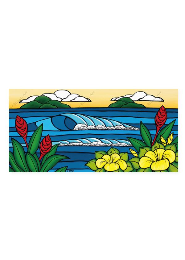 Hawaiian Island Paradise<br>【オープンエディションマットプリント】