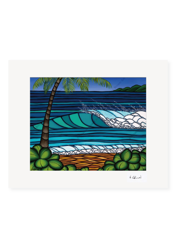 Hawaiian Winter <br>【オープンエディションマットプリント】