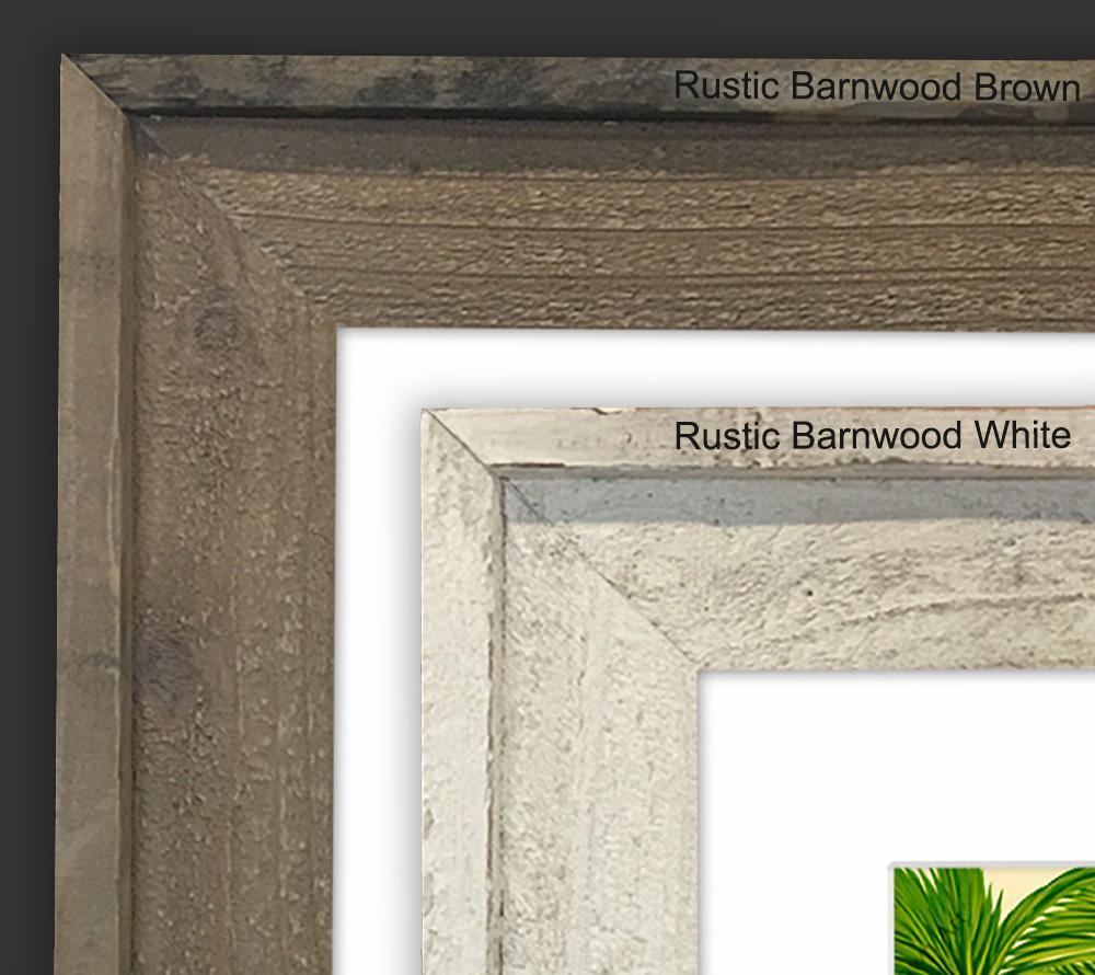 Barnwood Frame (White)<br>【FRAME】