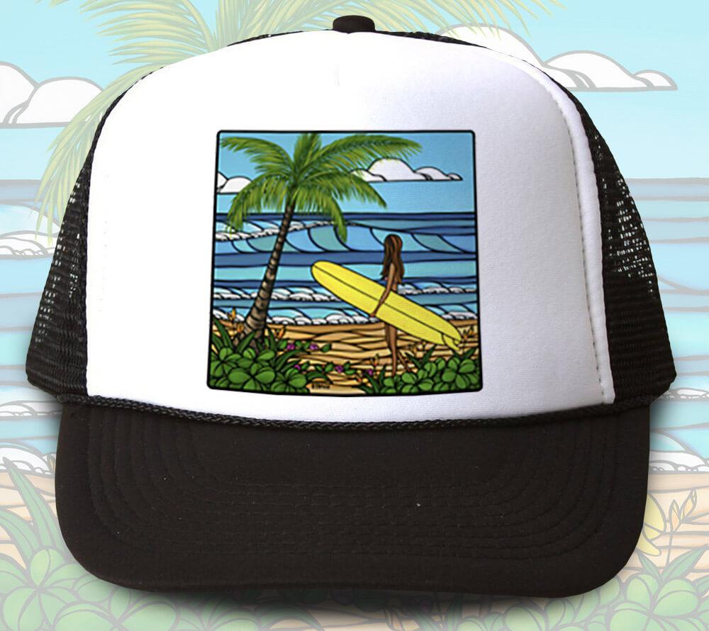 Sunrise Surf Trucker Hat <br>【キャップ】