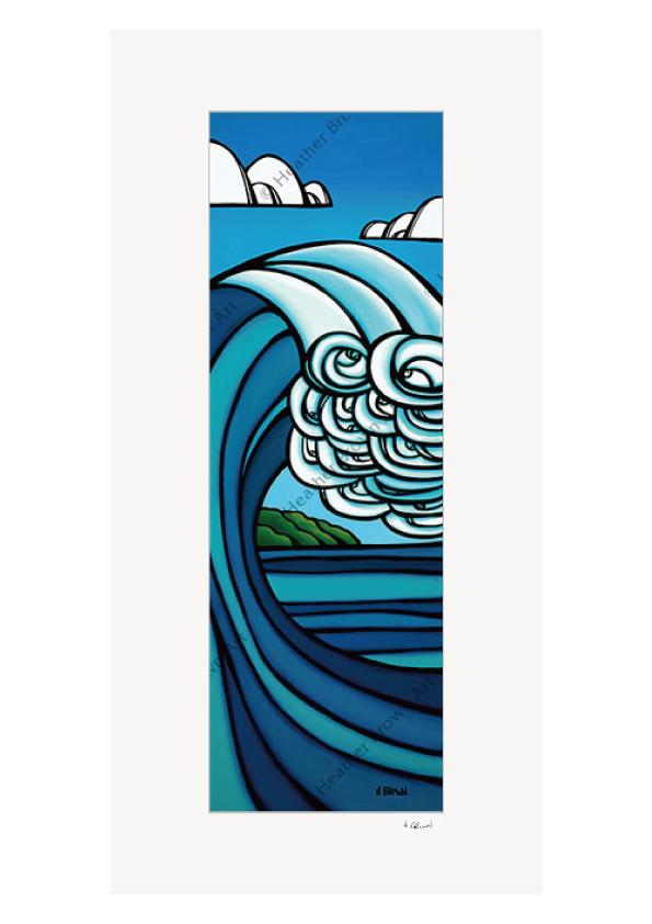 Island Barrel <br>【オープンエディションマットプリント】