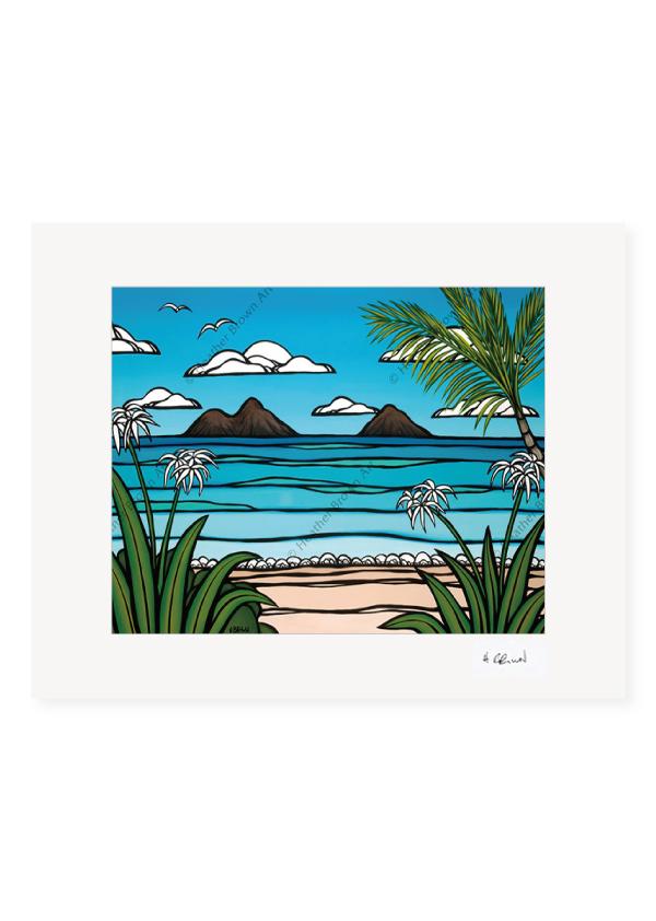 Kailua Weekend <br>【オープンエディションマットプリント】