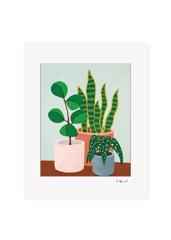 Plant #2602<br>【オープンエディションマットプリント】