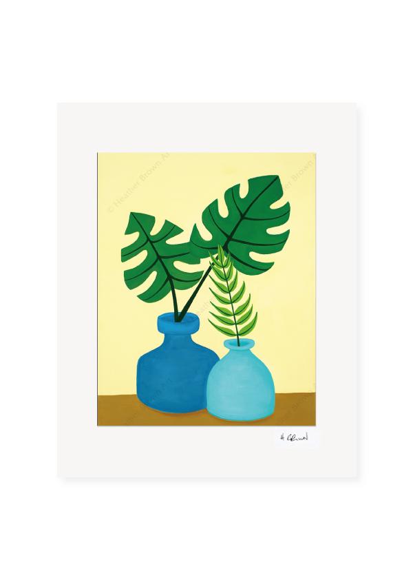 Plant #2603<br>【オープンエディションマットプリント】