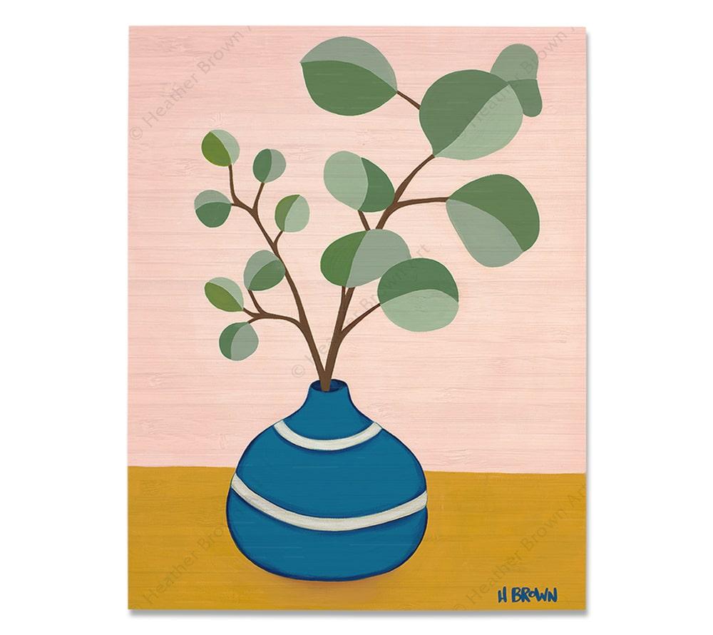 Plant #2599<br>【バンブー・プリント】