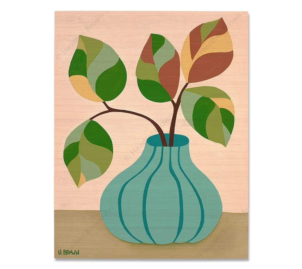 Plant #2601<br>【バンブー・プリント】