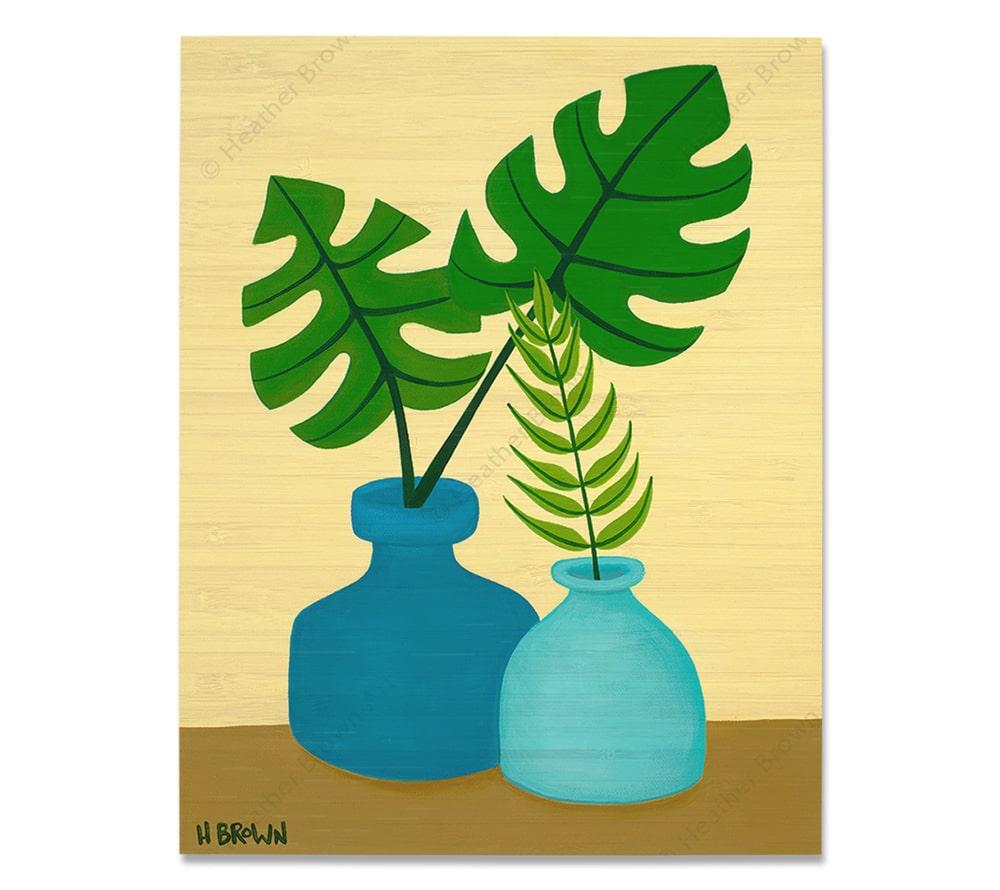 Plant #2603<br>【バンブー・プリント】