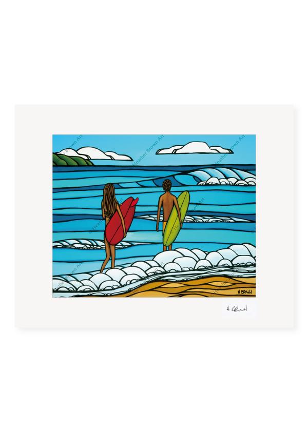 Love and Surf <br>【オープンエディションマットプリント】