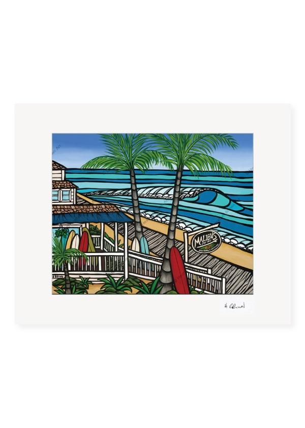 Malibu's Surf Shop <br>【オープンエディションマットプリント】