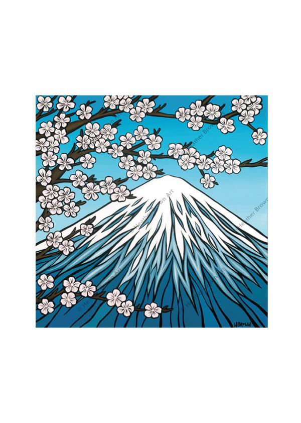 Mt.Fuji <br>【オープンエディションマットプリント】